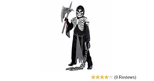 12-14 Eva Skeleton Child/'s Costume Size Large