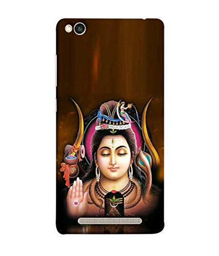 PrintVisa Designer Back Case Cover for Redmi 3S (shiva the transformer god )