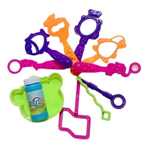 BESPORTBLE 11 STÜCKE Blase Zauberstäbe Blasen Gebläse Set Birthday Party Favors Liefert Sommer Outdoor Indoor Spielzeug für Kinder Jungen Mädchen
