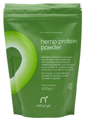 Naturya Organic?Hemp Protein Powder 300 g Nutritional Power Food Pouch by Naturya