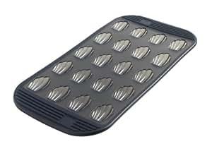 Mastrad F43214 Moule 20 Mini Madeleines Silicone Premium