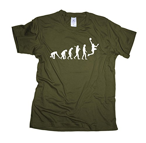 Basketball Regular Rundhals Herren Evolution T-Shirt BC150-khaki-s