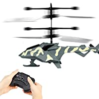 Prevently RC Helicopter, New Cool Mini RC Infrared Remote Control RC Toy 2CH Gyro Helicopter RC Drone For Kid