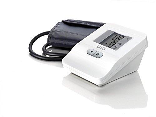 Laica BM2006 Misuratore di Pressione Sanguigna da Braccio Automatico, 120 Memorie, Bianco