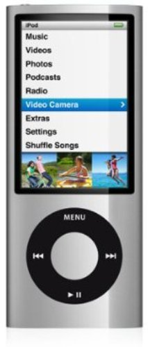 Apple Ipod Nano 5. Generation 8GB Silber Mp3 Player 5G (Apple Ipod 5 Generation Nano)