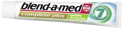 Blend-a-med Complete Plus milde Frische, 6er Pack (6 x 75 ml)