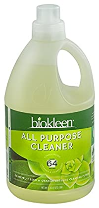 Biokleen All Purpose Cleaner Concentrate, 64 Ounces, (Pack of 6)
