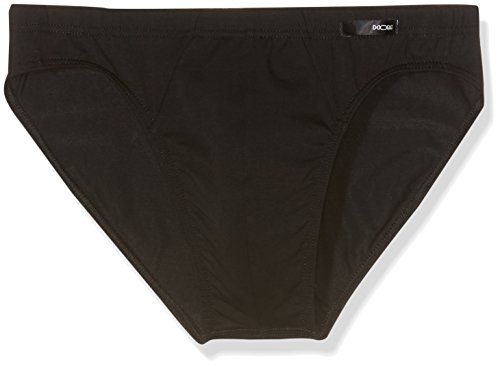 Hom Classic Micro, Slip Homme, Noir, Large (Taille Fabricant: L)