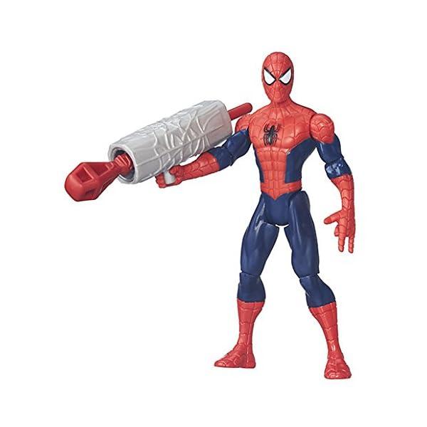 Marvel – Ultimate Spider-Man vs. Sinister 6 – Spider Man – Figura 15 cm + accesorio 2