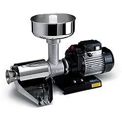 Reber 9000N-Presse Centrifugeuse, Noir, Argent, Acier inoxydable, Fonte, 600W, 730mm)