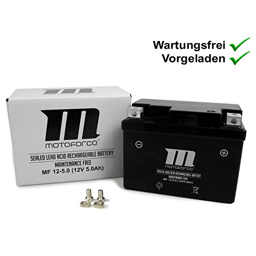 Wartungsfreie Batterie YT4A-3 5Ah Explorer Race GT50 , Formula One (YY50QT-6), Kallio 50, Spin GE50, Race GT50, Kallio 50 New Edition (Motoforce)