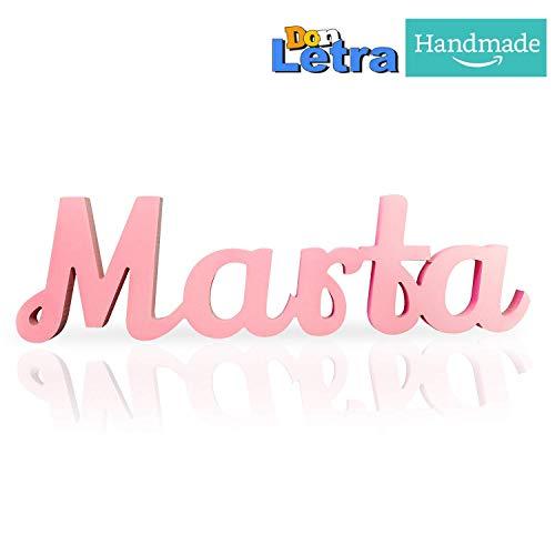 Nombres Decorativos Personalizados, Texto, Tipografía, Longitud Editable, Nombres para Boda, Decoración para Dormitorio de Niños, Regalos de Recién Nacidos, etc.