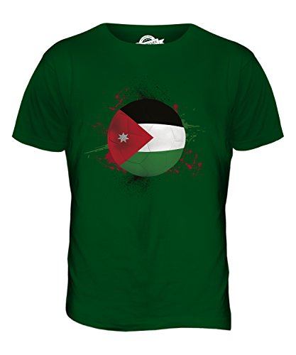 CandyMix Jordanien Fußball Herren T Shirt Flaschengrün