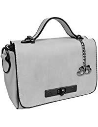 I Define You Latest Modern Art Grey Color Party Wear Sling Bag For Girls And Women's