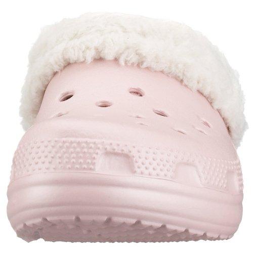 Crocs Mammoth Kids 10048, Unisex - Kinder Clogs & Pantoletten Cotton Candy/Oatmeal