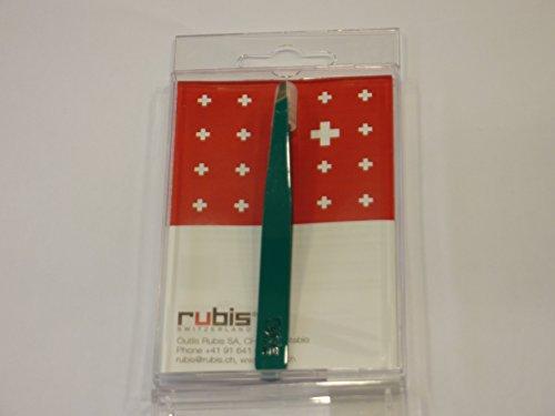 Rubis Pince à Épiler Suisse Vert classique