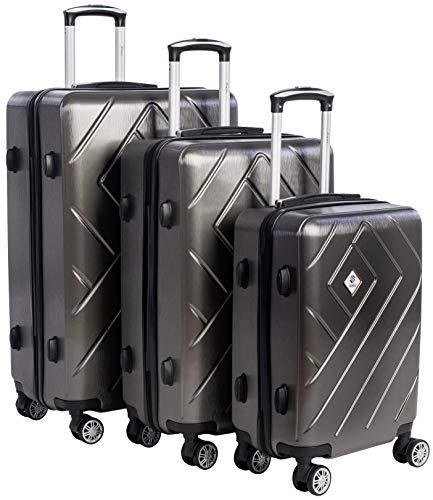 Scratch-Resistant 3pcs Luggage S...