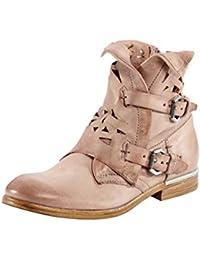 Details zu Marco Tozzi Schuhe braun echt Leder Lochstanzungen Damen Gr. 38 (UK 5)
