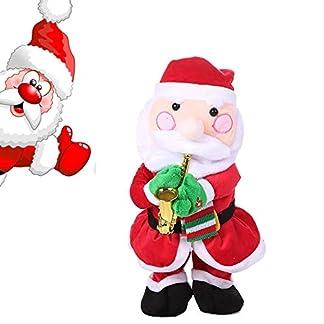 Navidad Musical Juguetes Torcidos Papá Noel Árbol de Navidad Reno Baile Eléctrico Cantando Juguetes Niños Chicas Muchachos (Papá Noel)