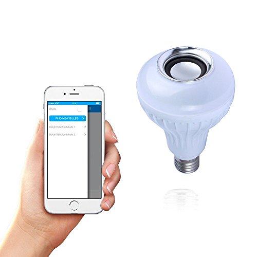 ALED LIGHT®Nuovo stile Bluetooth lampadina musica E27(12W), RGB di colore