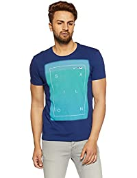 United Colors of Benetton Men's Printed Regular Fit T-Shirt