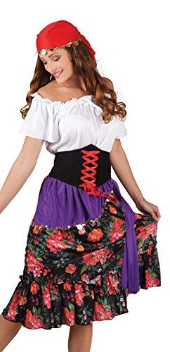 Kostüm Zigeunerin Rilana (Kostüm Mädchen Blumen Up Make)