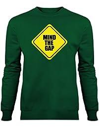 Sudadera Mind The Gap Warning by Shirtcity