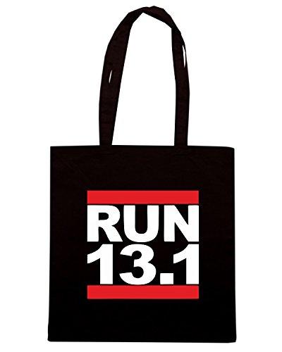 T-Shirtshock - Borsa Shopping OLDENG00631 run 131 Nero