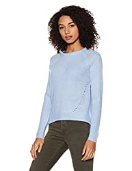 Forever 21 Womens Synthetic Pullover (00118650022_0011865002_Baby Blue_2)