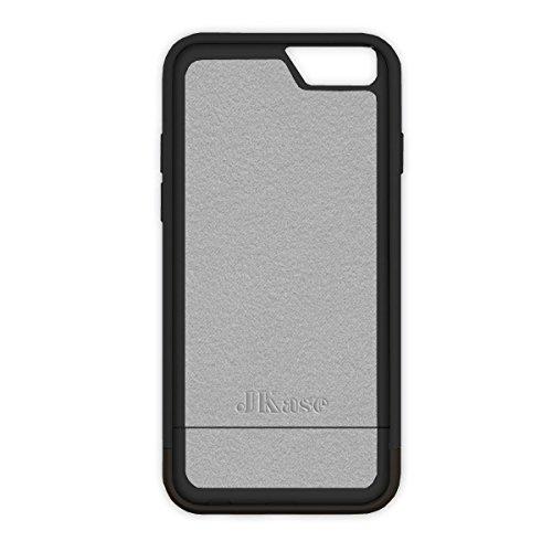 iPhone 6S / 6 Hülle, JKase CANVAS SLIDE Rüstung Case Hülle TPU Innencase für iPhone 6S / iPhone 6 (Schwarz) Schwarz