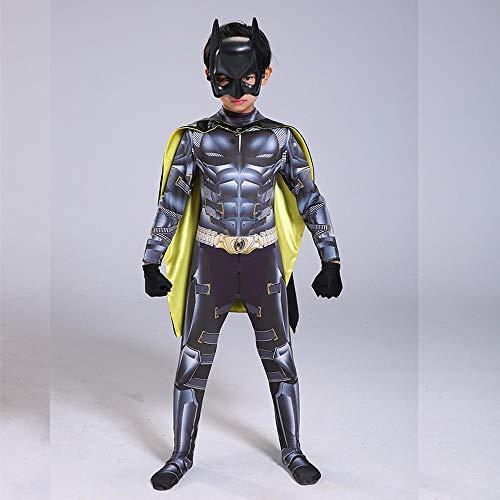 y Kleidung Batman VS Superman Cosplay Kostüm Marvel 3D Digitaldruck Enge Weihnachten Halloween Kostüm Für Kinder/Erwachsene B-M ()
