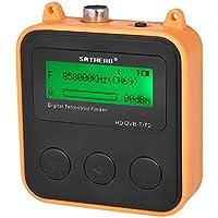Docooler SATHERO SH-110HD Medidor de Señal DVB-T DVB-T2 Buscador de Señal de Televisión Digital HD Receptor LCD Dispaly