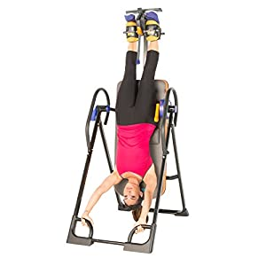 Exerpeutic 975SL Extra Capacity Inversion Table - 350 lbs / 158 kg