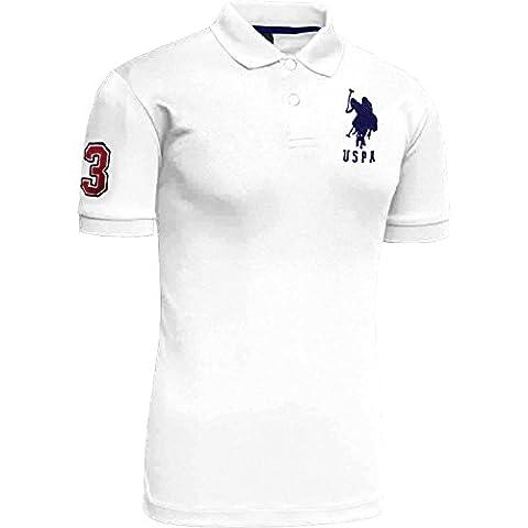 Mens US POLO ASSN Short Sleeve Polo Shirt   Top