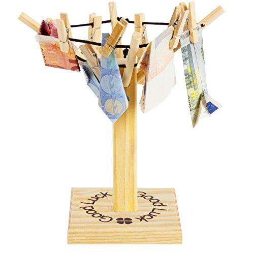 BRUBAKER Geld- oder Foto Wäschespinne