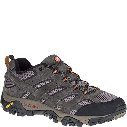 Merrell moab 2 ventilator j06015 uomo scarpe da camminata trail grigio scarpe da uomo sneaker taglia: eu 44 uk 9.5