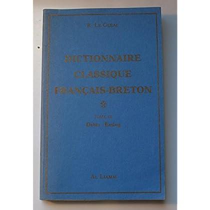 Dictionnaire classique français-breton