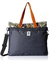 adidas Tasche Oddity Camo City Shopper, Dark Violet F12/Multicolor/Collegiate Orange, 36 x 44 x 2 cm, 3 Liter, AB3875