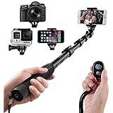 Arespark Perche de Selfie stick sans fil Bluetooth monopode portable pour Gopro