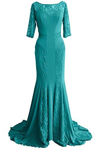 MACloth - Robe - Moulante - Femme Turquoise - Turquoise
