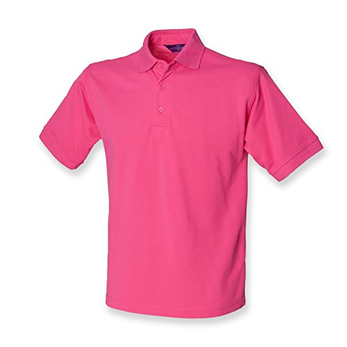 HenburyHerren  Polo ShirtPoloshirt Rosa - Fuchsia