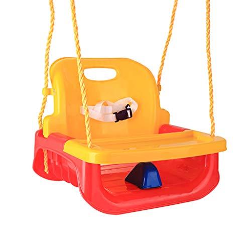 High Backed Toddler Swing   Outdoor, Indoor   Frei Einstellbare Höhe Design   Robust Und Langlebig   Verbesserte Sicherheitsmerkmale   Kunststoff, Sicherer Gürtel   Mindestalter: 6 Monate Alt -