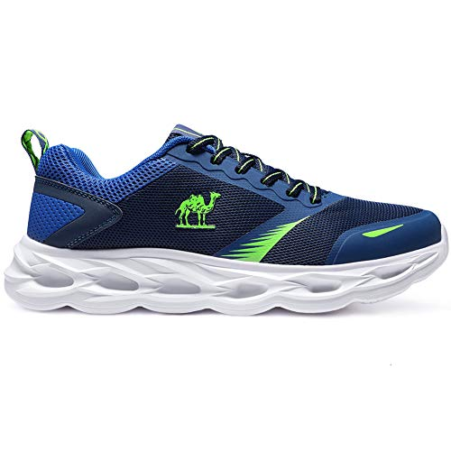 CAMEL CROWN Sportschuhe Herren Freizeit Mode Sneaker Laufschuhe Turnschuhe Leichte Bequeme Running für Männer Jungen Sport Gym Fitnessschuhe, Marine, 43 EU