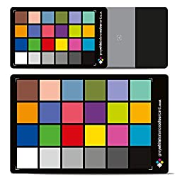 The 2 in 1 Grey White Balance Colour Card Duo Set. Mid-size card and 3x2 credit card size