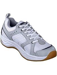 Chung Shi AuBioRiG Comfort Step Tokyo 9102355 - Zapatillas de deporte de tela para hombre, color blanco, talla 42
