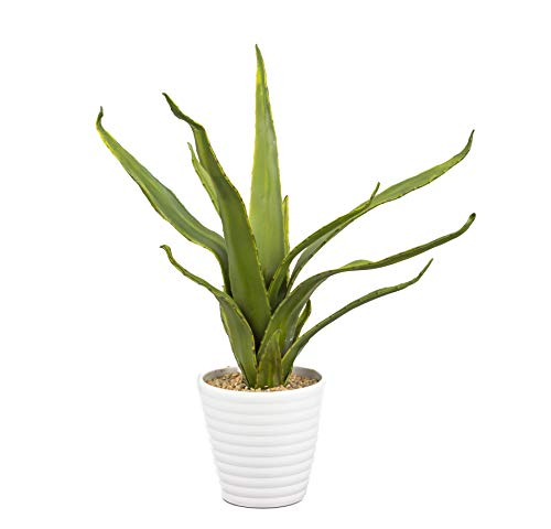 artfleur – künstliche Agave Kunstpflanze Topfpflanze 50cm