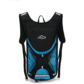 RDJM Sac d'hydratation, Sac à Dos de l'eau pour la vessie d'eau, Grande capacité, imperméable à l'eau, Respirant, Parfait pour Courir la randonnée à vélo Sac d'escalade, 41 * 22cm, g