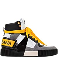 f0a6d61f469c Dolce E Gabbana Homme CS1619AU45387583 Blanc Cuir Baskets Montantes