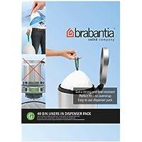 Brabantia Bin Liners, taille G, 23-30 L - 40 sacs
