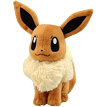 Pokemon - Peluche de felpa, diseño de Eevee de Pokémon (30cm)